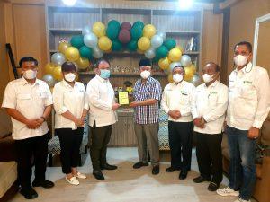 Drs. Syaiful Syafri, MM bersama Dr. RE. Nainggolan